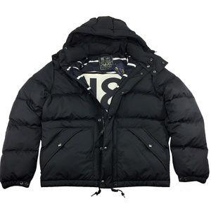 Polo Ralph Lauren Mens Down Hooded Puffer Jacket